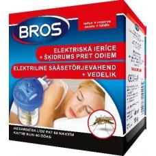 BROS электрическое устройство от комаров + жидкость от комаров