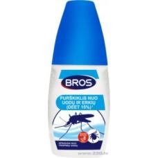 BROS средство от комаров и клещей - распыляемый 50мл